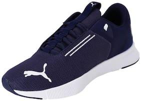 PUMA Flyer Modern Peacoat-Puma White Men Running Shoes