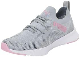 Puma Women Flyer Runner Engnr Knit Wn's Running Shoes ( Grey )