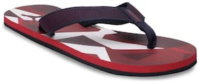 Puma Men's James IDP High Risk Red-Peacoat-Whi Red Flipflops
