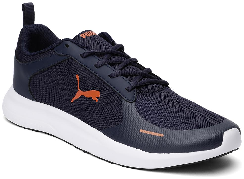 PUMA Jaunt IDP Peacoat-Jaffa Orange Sports Shoes For Men