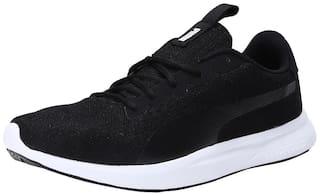 Puma Men Jigsaw IDP Running Shoes ( Black )