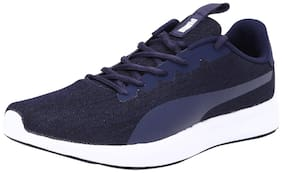 Puma Men Jigsaw IDP Peacoat-Rhubarb Running Shoes ( Blue )