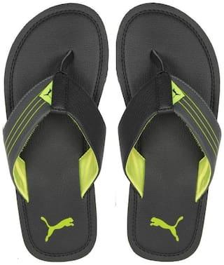 Puma Ketava Black Slippers