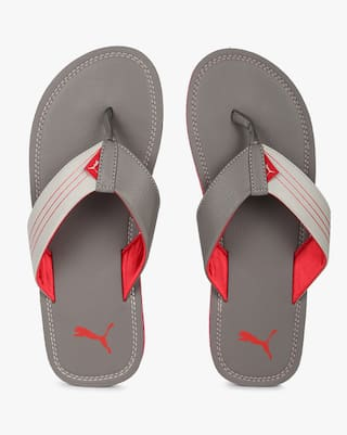 27fe9e20c119 Buy Puma Men Grey Flipflop Online at Low Prices in India - Paytmmall.com