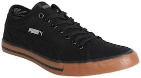 Puma Yale Gum Solid CO IDP Men Black Sneakers -