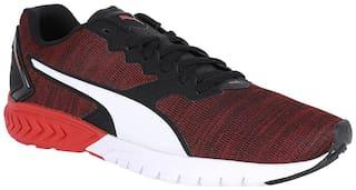 Puma Men Black Football Shoes