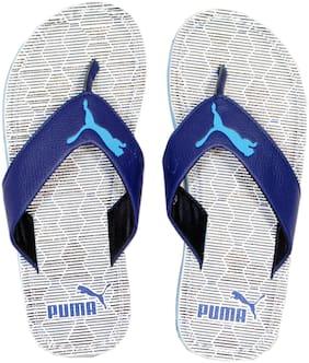 Puma Men Blue & White Flipflop & Outdoor slippers