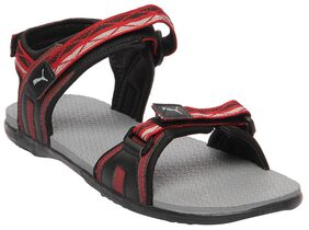 Puma Men Red Sandals & Floaters
