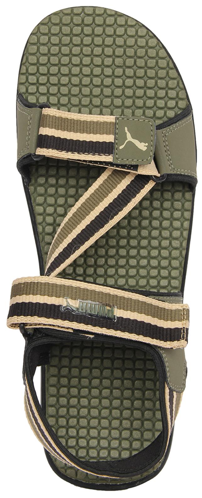 a6c31c8bbf54 Buy Puma Men Olive Sports Sandal Silicis Mesh Online at Low Prices in India  - Paytmmall.com