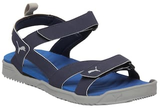 0e2b63df116c Buy Puma Men Navy Blue Sandals   Floaters Online at Low Prices in ...