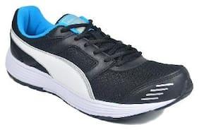 Puma Men's BLK/WHT Sport Shoes