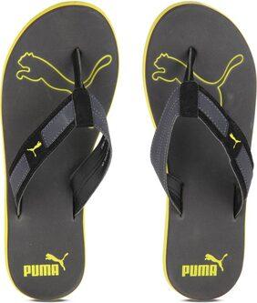 Puma Men Grey Outdoor Slippers