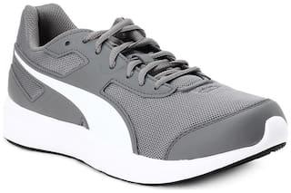 Puma Men Escaper Mesh IDP Running Shoes ( Grey )