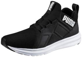 Enzo Mesh Running Shoes For Men ( Black )
