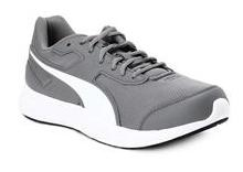 Puma Unisex Grey Running Shoes