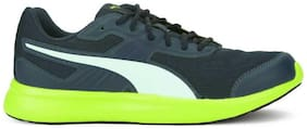 Puma Unisex Pearl DE Wn's Running Shoes ( Blue )