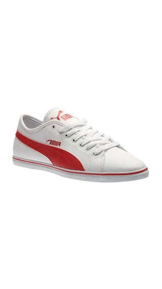 Buy Puma Men White Sneakers Online at Low Prices in India ... cdf13bb50