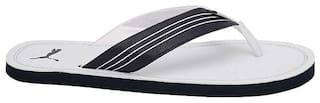 Puma Men White Flip-Flops - 1 Pair