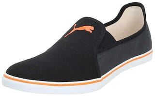 Puma Gray Slip On NU IDP Men Black Sneakers - GRAY SLIP ON NU IDP - 367773
