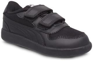 Puma Kent V INF IDP Classic Sneakers Shoes For Men (Black)