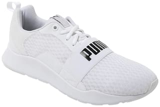 Puma Men Wired Running Shoes ( White )