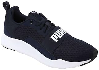 Puma Men's Puma Wired Navy Blue Sport Shoes