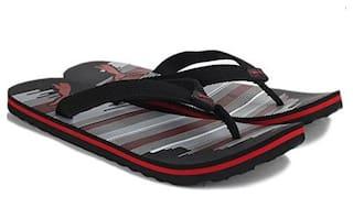 Puma Unisex Red & Black Outdoor Slippers - 1 Pair