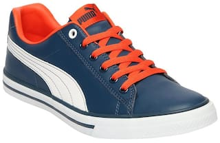 a23047ce9fe Buy Puma Men Blue Sneakers - 36621404 Online at Low Prices in India ...