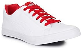 Puma Men White Sneakers