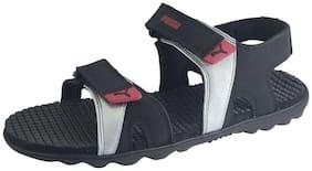Puma Men's Taurus IDP Black Sandals and Floaters