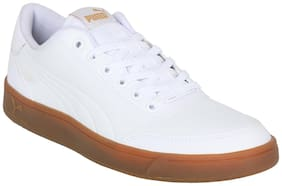 Sneakers Shoes For Men ( White )