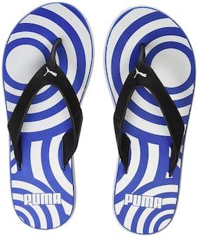 Men Outdoor Slippers ( Blue )
