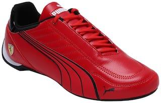 Puma Ferrari Race Future Kart Cat Classic Sneakers Shoes For Men (Red)
