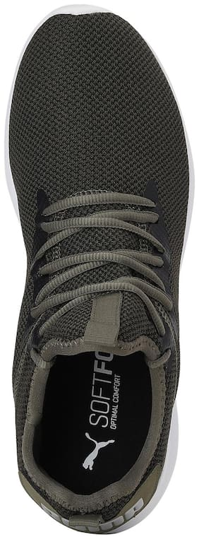 Sneakers Shoes For Men ( Green )