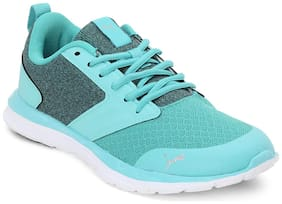 Puma Women Agile t1 nm wn s idp blue turquoise-silv Running shoes ( Blue )