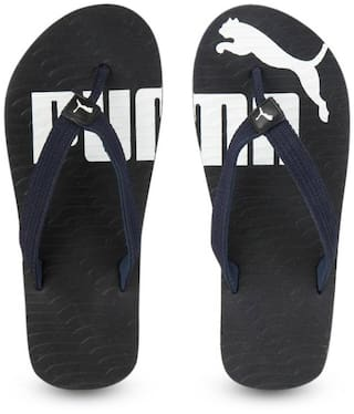 12b4cec56 Buy Puma Men Black Flipflop Online at Low Prices in India ...
