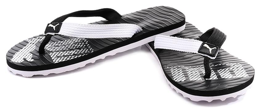 Buy Puma Miami DP 6 Black White Flip Flops Online at Low Prices in India -  Paytmmall.com 35dc589f0