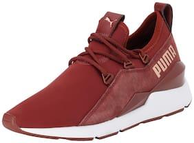Puma Women Maroon Sneakers