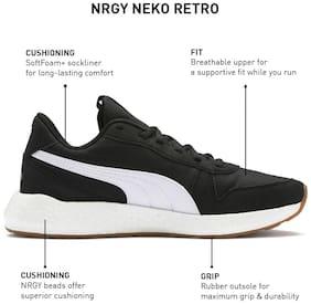 PUMA NRGY Neko Retro Wns Puma Black-Puma Whit Women Running Shoes