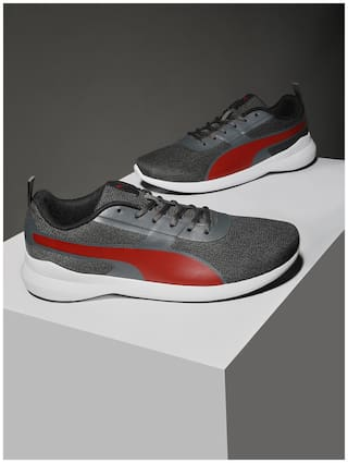 Puma Pacer Styx IDP Classic Sneakers Shoes For Men (Grey)