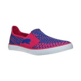 Puma Pink Mesh;Textile Women Sneakers & Sports Shoes