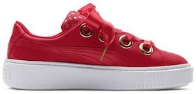 Puma Women Red Sneakers