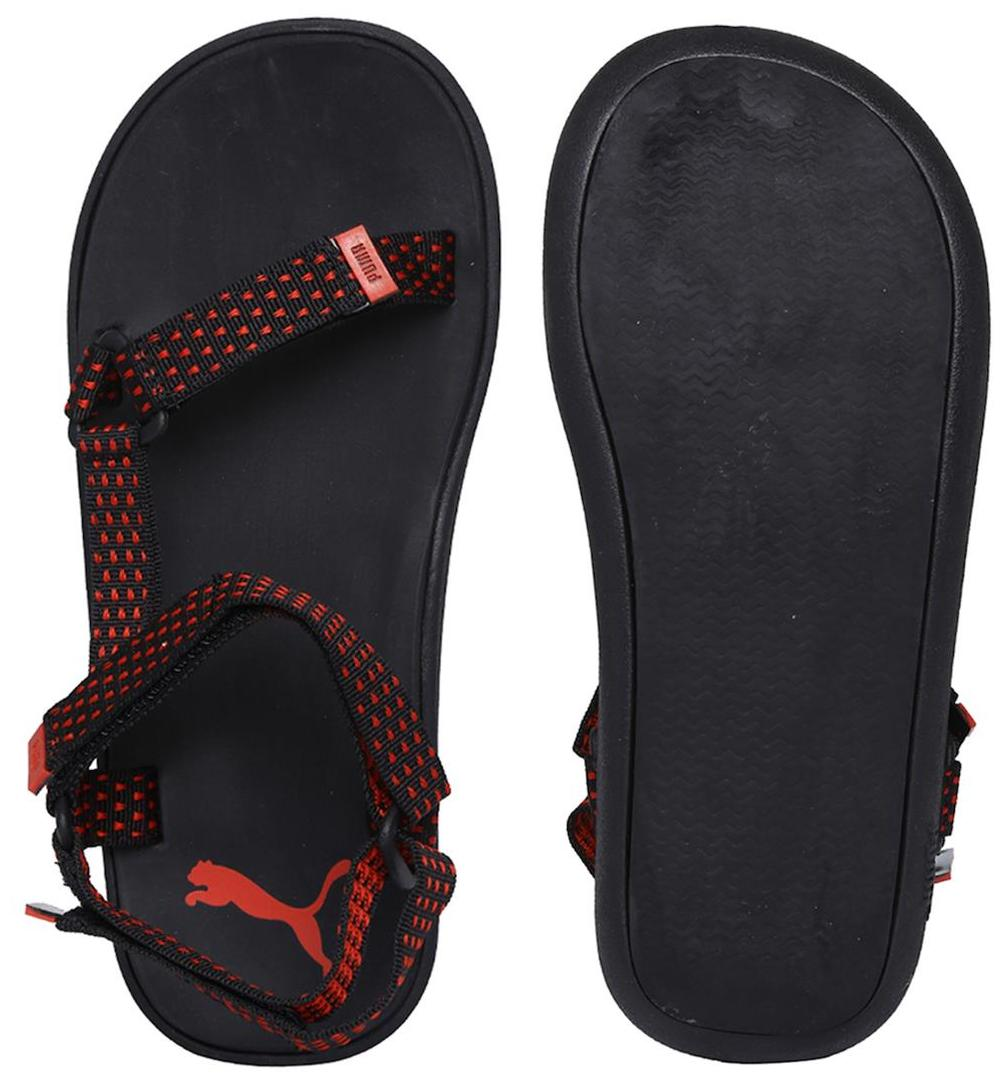 8517124662b5 Buy Puma Men Black Sandals   Floaters Online at Low Prices in India -  Paytmmall.com
