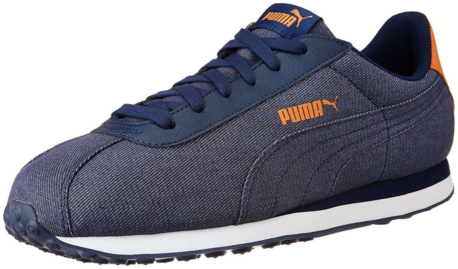 Puma Puma Turin Denim Peacoat Peaco Walking Shoes by Shoe Junction