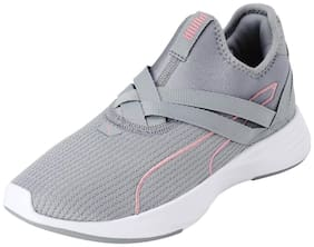 Puma Women Radiate xt slip-on quarry-bridal rose Training/ gym shoes ( Grey )
