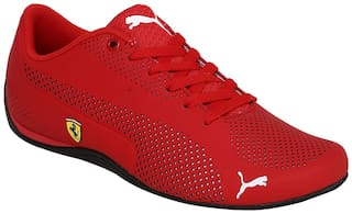 Puma SF Drift Cat 5 Ultra Red Synthetic ForMen