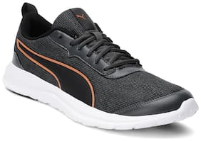 PUMA Shadowshard IDP Dark Shadow- Black Sports Shoes For Men