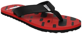 Puma Men Red Outdoor Slippers - 1 Pair