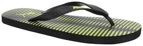 Puma Men Yellow & Black Flip-Flops - 1 Pair