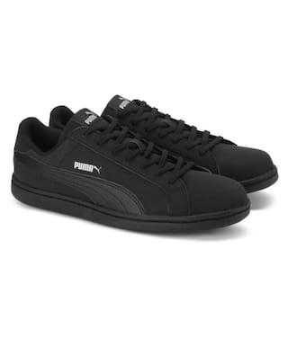9af04ef49c556f Buy Puma Men Black Sneakers Online at Low Prices in India ...